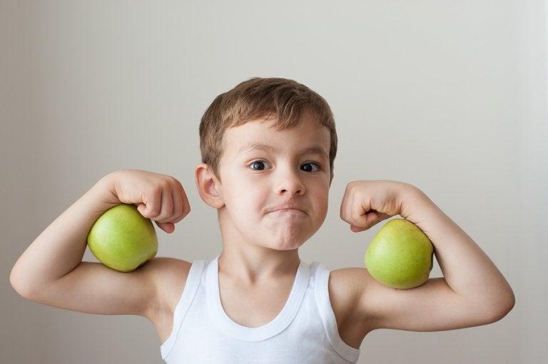 Alimentación adecuada para niños deportistas