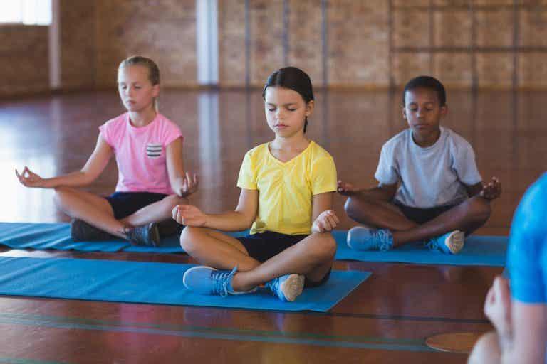 Los beneficios de la meditación en el aula