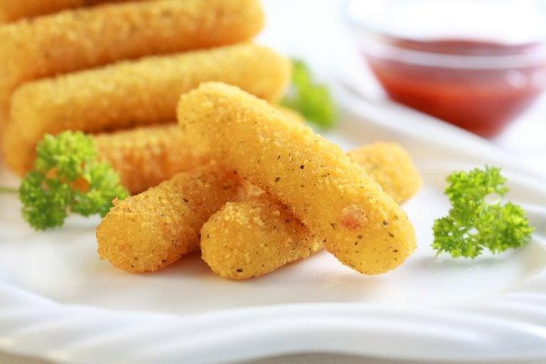 5 recetas con queso para niños