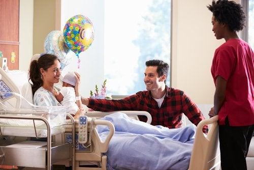 8 consejos para ir a visitar al recién nacido al hospital