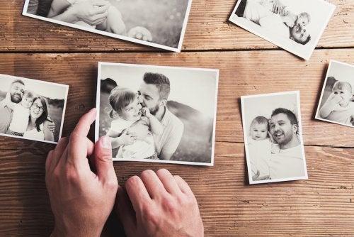 7 ideas de fotos originales para presentar al nuevo bebé
