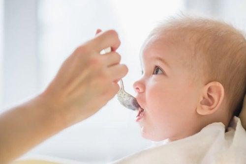 ¿Es bueno conservar la comida para el bebé?