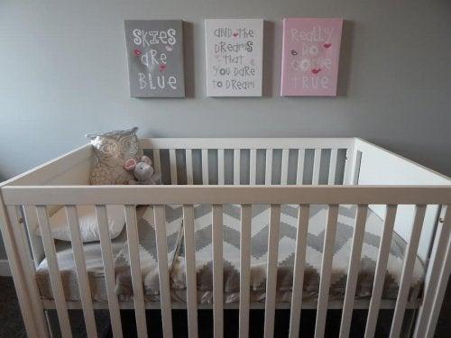 Ideas para la habitación de un bebé.