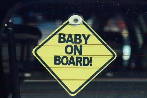 Bebé a bordo.