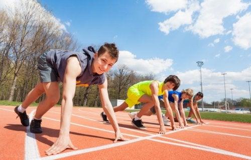 Beneficios psicológicos del deporte en los niños
