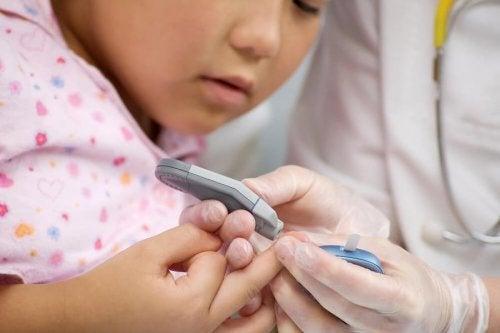 Diabetes tipo 2 en niños.