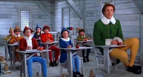 Elf, una de las películas para niños relacionadas con la Navidad.