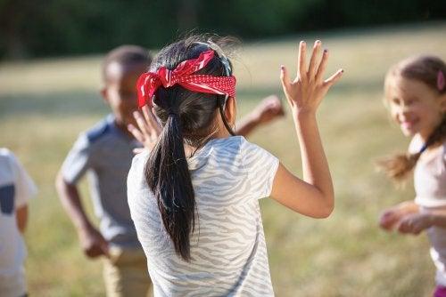 Actividades para niños con discapacidad visual.