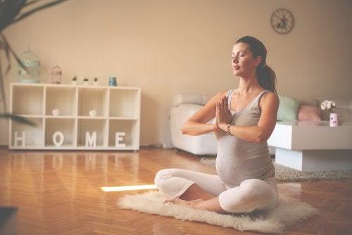 Beneficios de la meditación en el embarazo