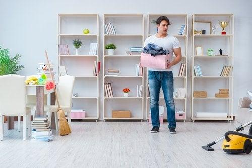 El método Marie Kondo para ordenar la casa