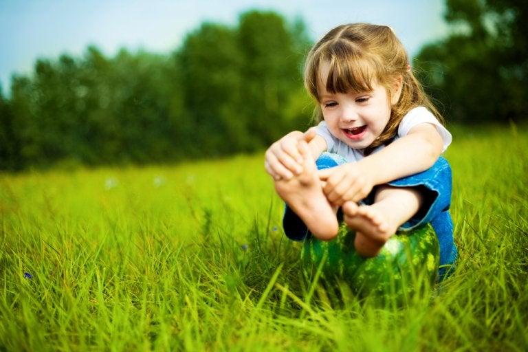 Cómo cuidar los pies de los niños