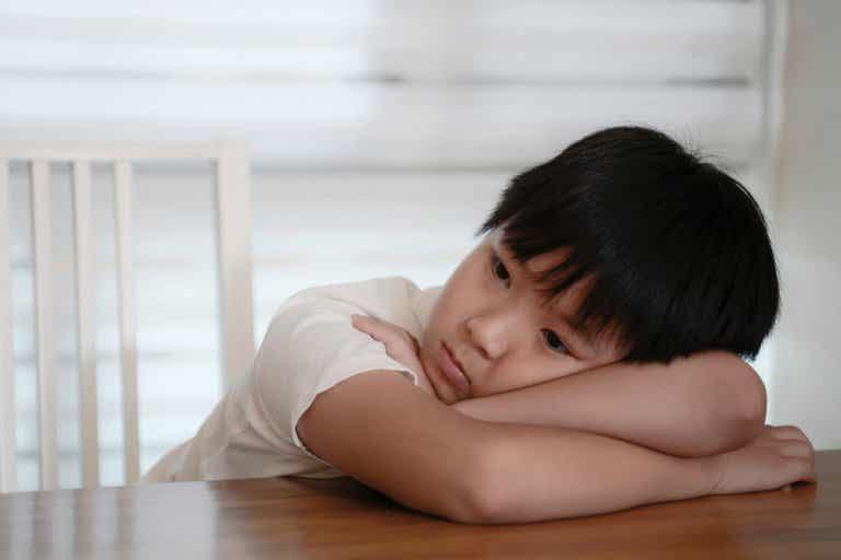 Niños con bajo estado de ánimo