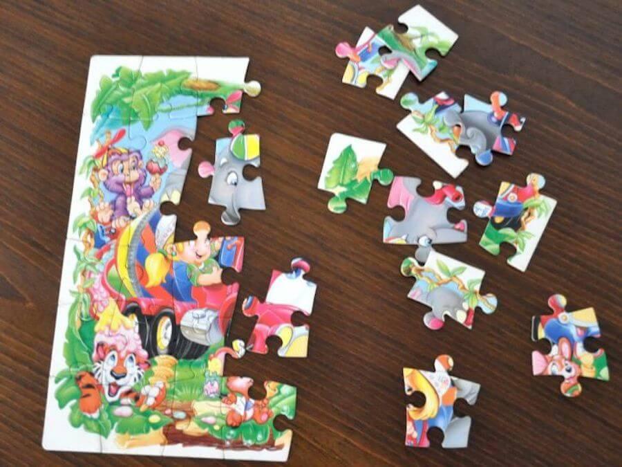 Los puzzles infantiles son una excelente manera de que los niños desarrollen su creatividad