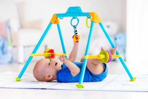 Ejercicios de estimulación temprana para niños