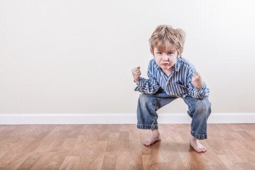 Estereotipias en la infancia.