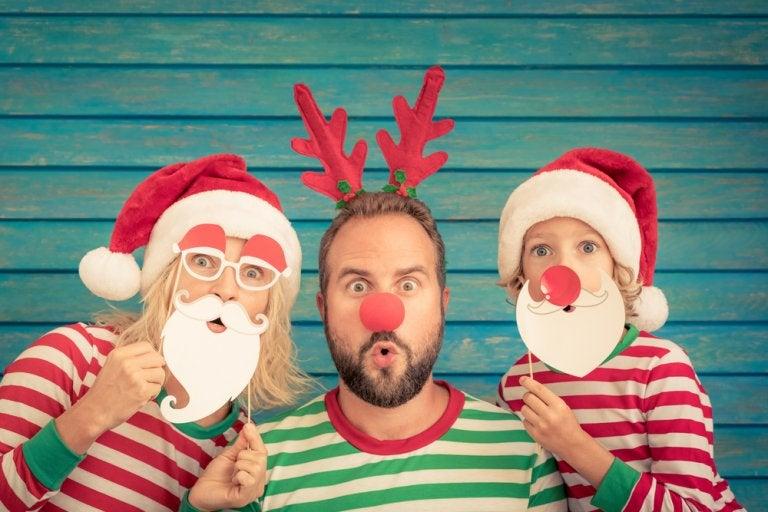 11 ideas de fotos navideñas en familia