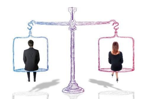 Igualdad entre hombres y mujeres.