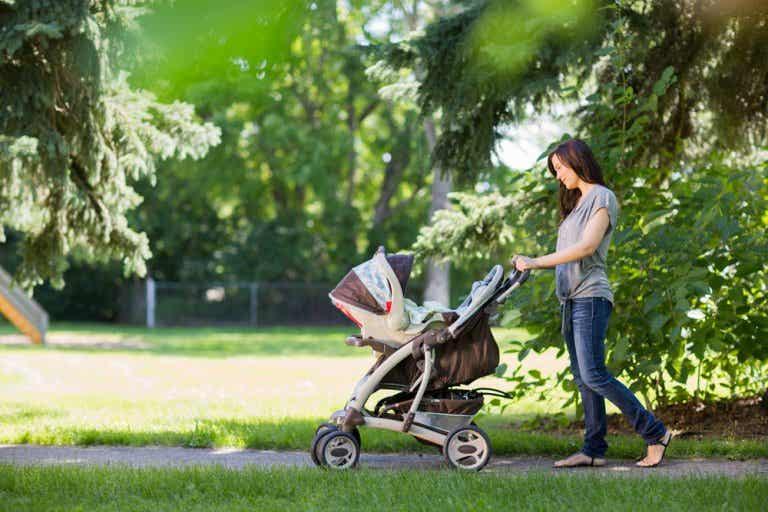 ¿Cuándo debe ser la primera salida del bebé a la calle?