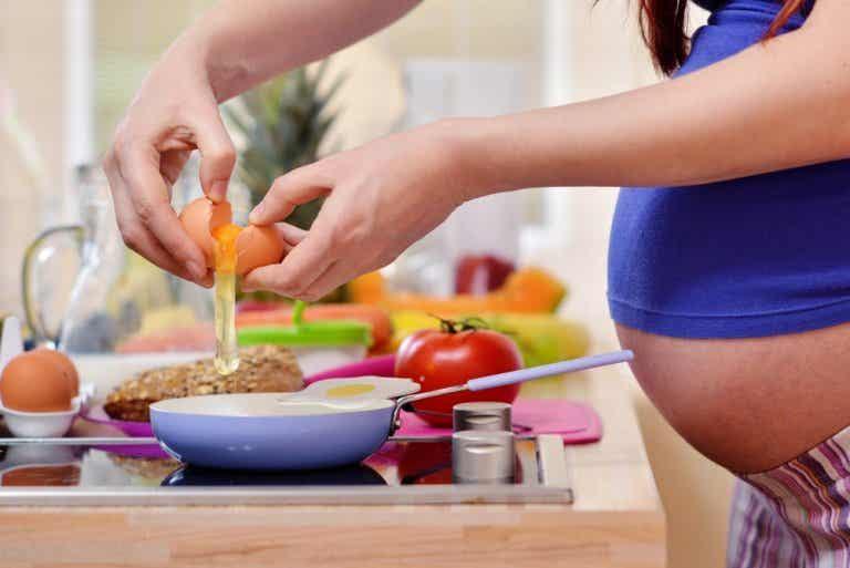 Guía de alimentación para embarazadas