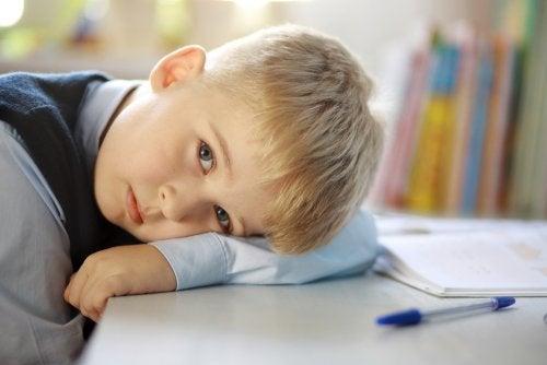 Falta de energía en niños. ¿Qué hacer?