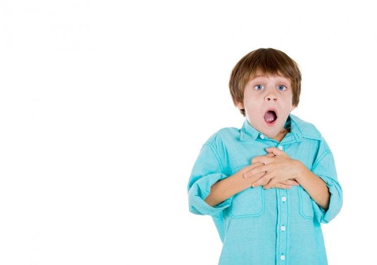 Ginecomastia en niños