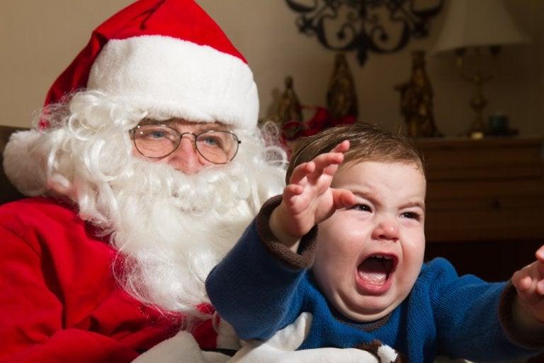 El miedo a Papá Noel y los Reyes Magos