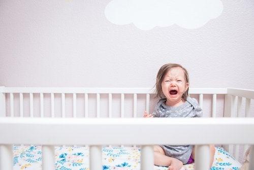La ansiedad de separación en bebés.
