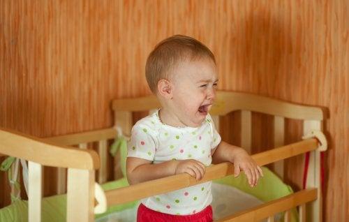 La ansiedad de separación en bebés