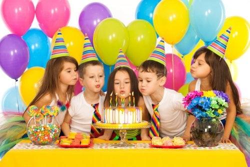 Juegos fáciles para cumpleaños infantiles