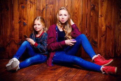 Influencia de los hermanos en la adolescencia