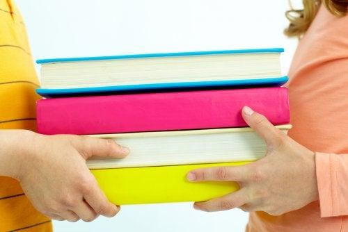 Libros de ciencias para niños.