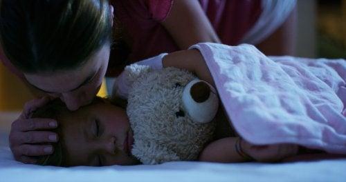 Uso de melatonina en niños para inducir el sueño