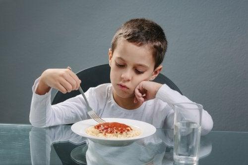 Problemas de alimentación en niños