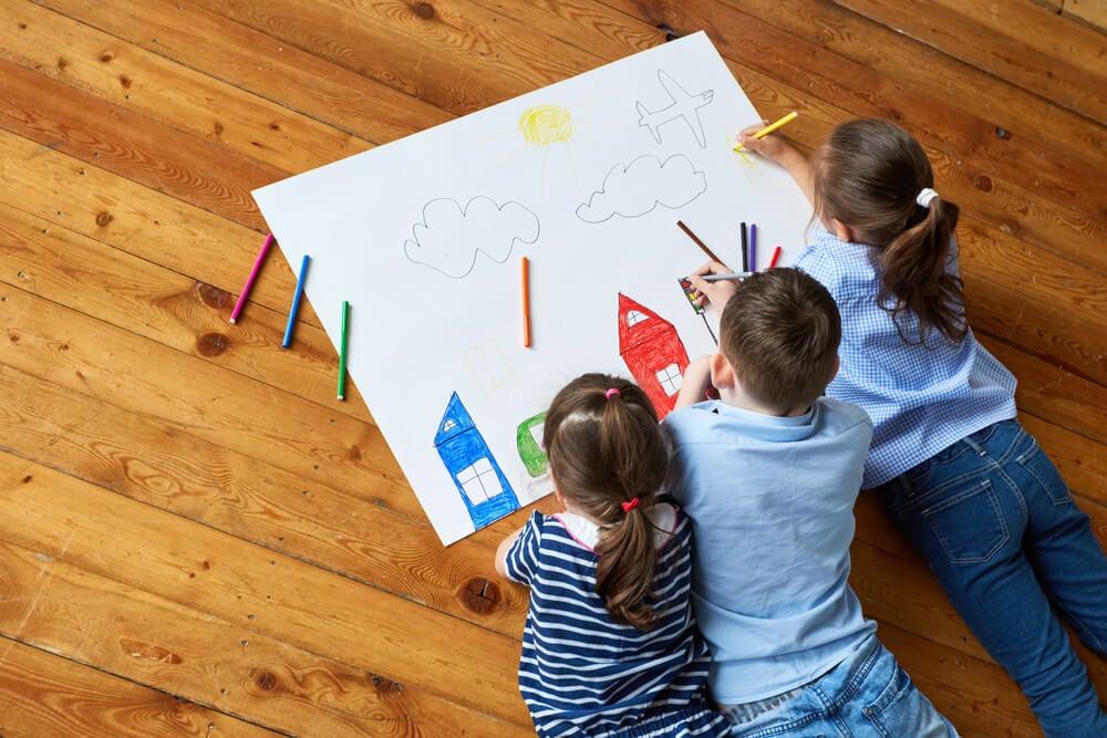 Siete maneras de estimular la creatividad de los niños a través del dibujo