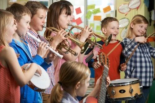La asignatura de música en el colegio: importancia.