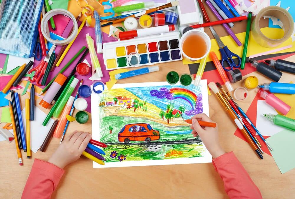 6 beneficios de que los niños aprendan a dibujar - Eres Mamá