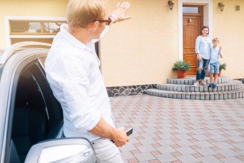Efectos del convenio regulador de visitas de los hijos