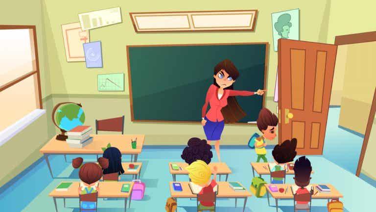 Castigos en el aula