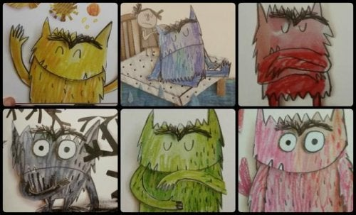 Libros para trabajar las emociones con los niños.