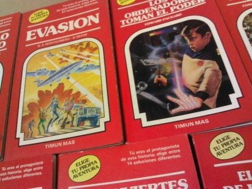 Libros infantiles de los 80 y 90