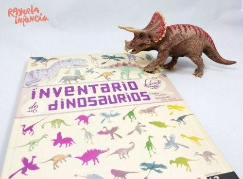 Libros infantiles con dinosaurios como protagonistas.
