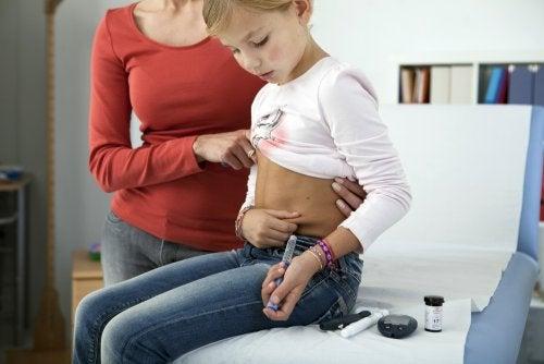 Diabetes tipo 1 en niños