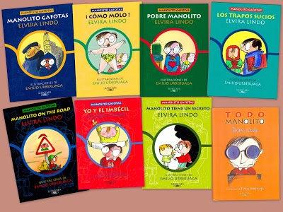 Mejores sagas de libros infantiles.