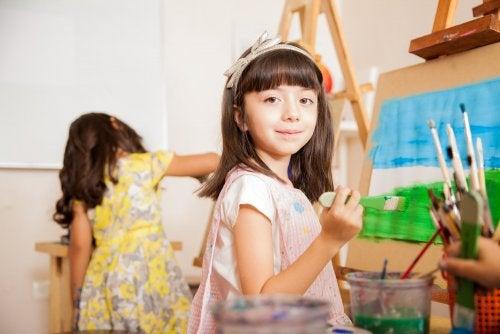 La pintura en educación primaria: beneficios.