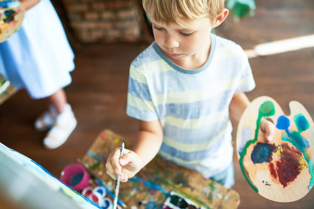 La pintura en educación primaria: beneficios