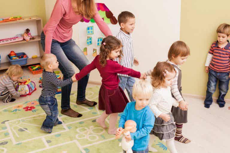 Las necesidades básicas en la educación infantil