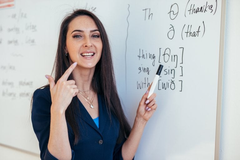 Ejercicios para mejorar la pronunciación en inglés