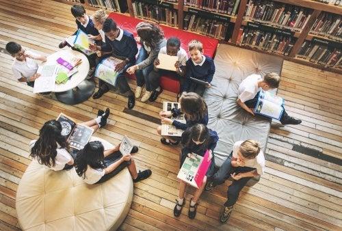 La teoría de la organización escolar y sus características.