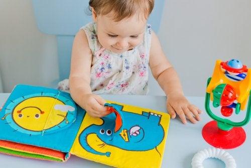 Tipos de libros para niños de 0 a 3 años
