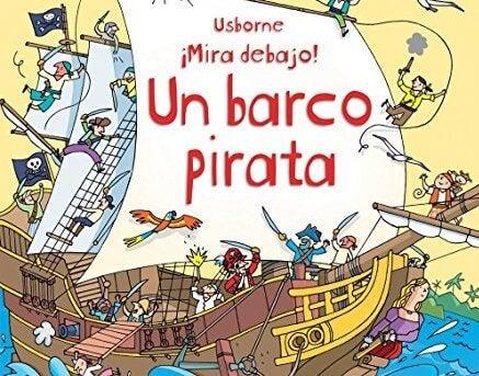 Libros sobre piratas para niños.